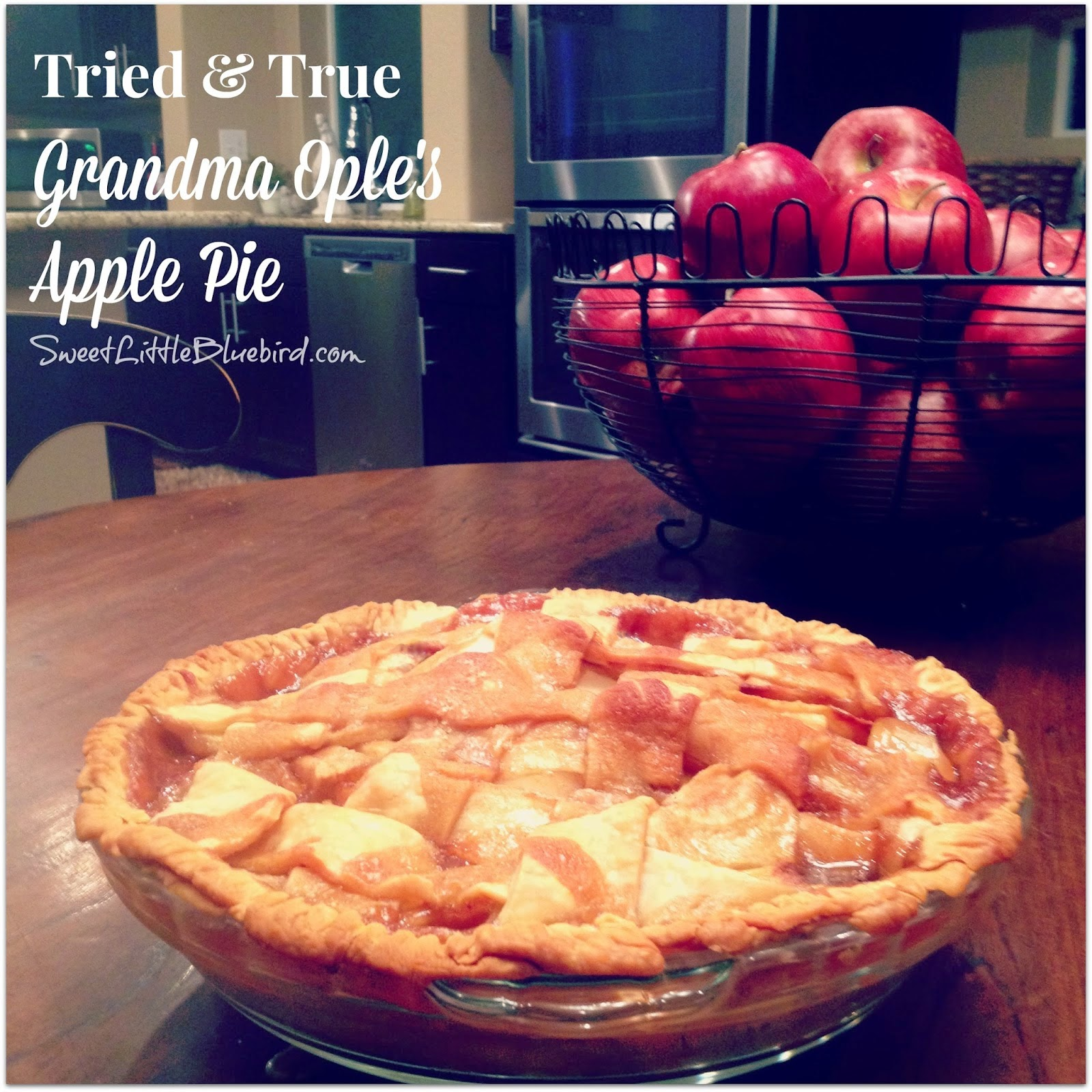 GRANDMA OPLE'S APPLE PIE - Girls Dish
