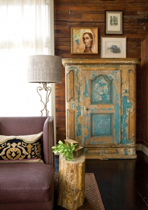 Rustic eclecticism      (I made that up.)