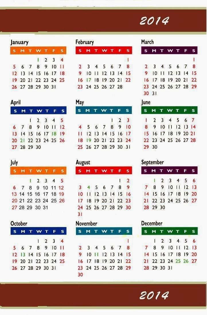 hd wallpapers new year calendar 2014