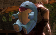 New Baby Quaggan Backpack on a Human character