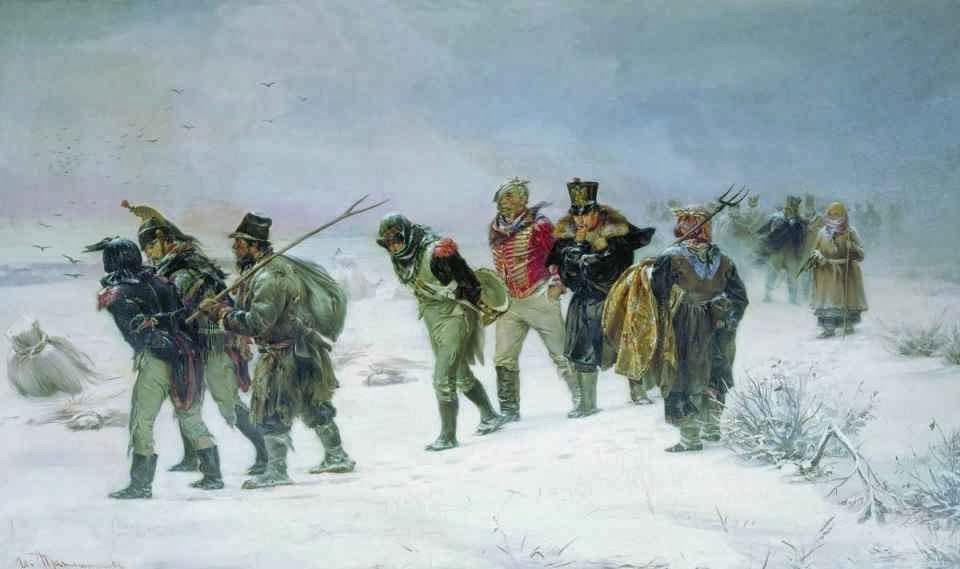 Tropas de Napoleon Bonaparte en Rusia