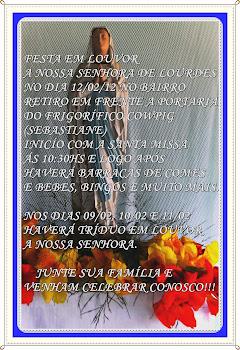 Festa em Louvor a Nossa Senhora de Lourdes
