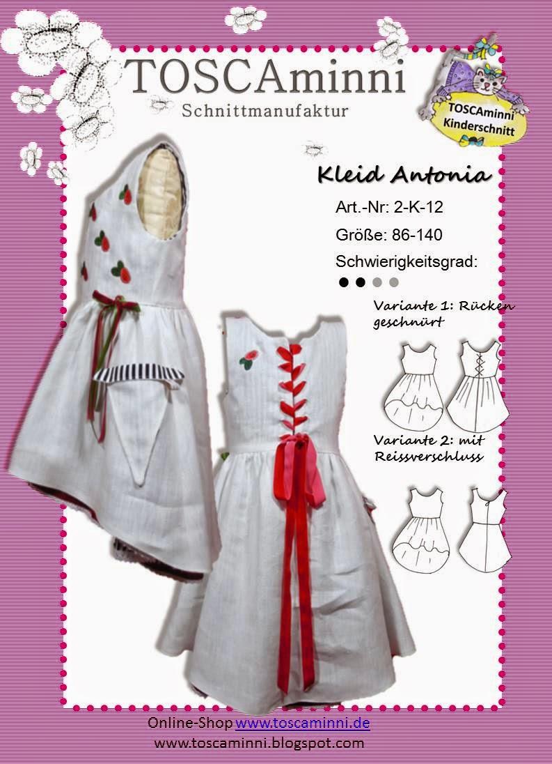 Kinderkleid Antonia, Gr. 86-140