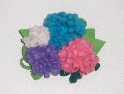Horquilla flores