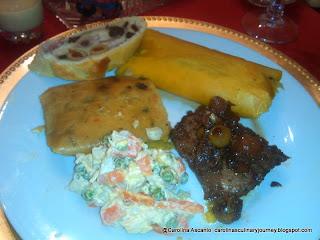 Cena Navideña Estilo Venezolano 2013 -Christmas Dinner Venezuelan Style (Venezuela)