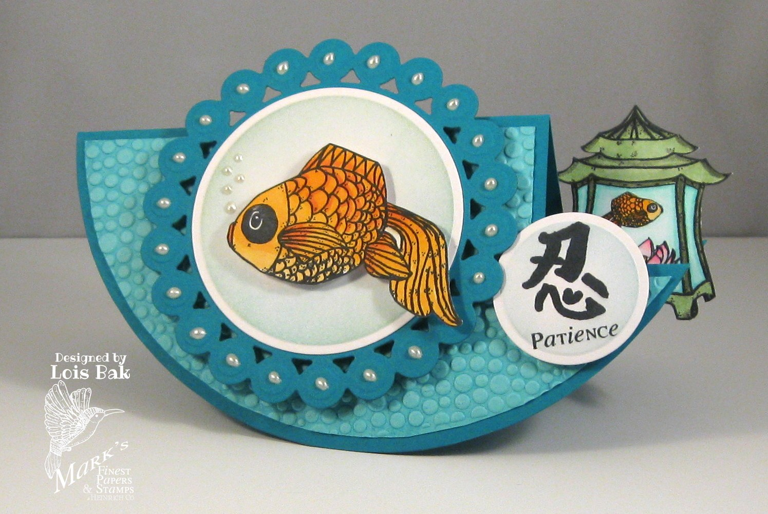 Clownmom creations mfp blog hop day 4 wealthy fish for Step 2 rocking fish