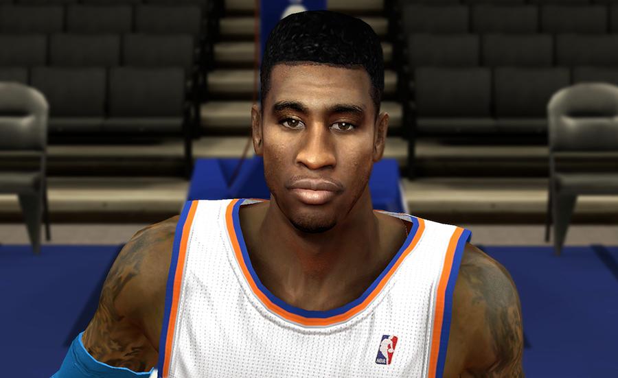 NBA 2K14 Iman Shumpert Realistic Face & Hair Mod