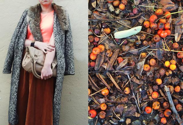 Fall Fashion: Vintage velvet & fur