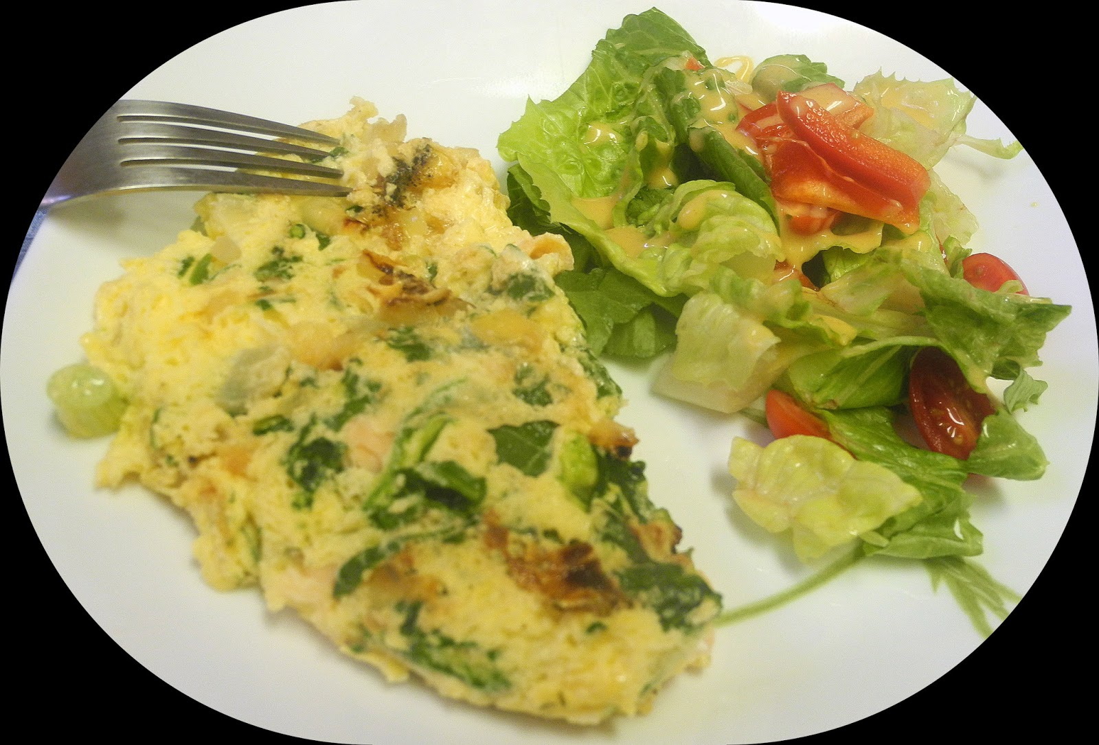 Gluten-Free Smoked Salmon And Spinach Goat Cheese Strata ...