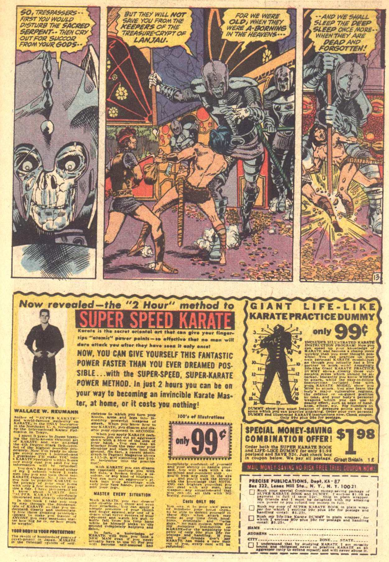 Conan the Barbarian (1970) Issue #8 #20 - English 14