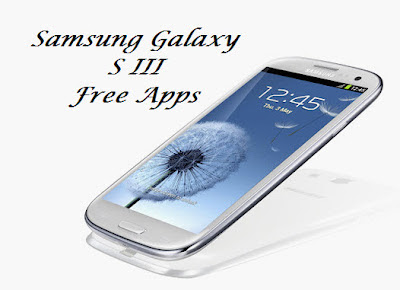 Samsung Galaxy S III applications