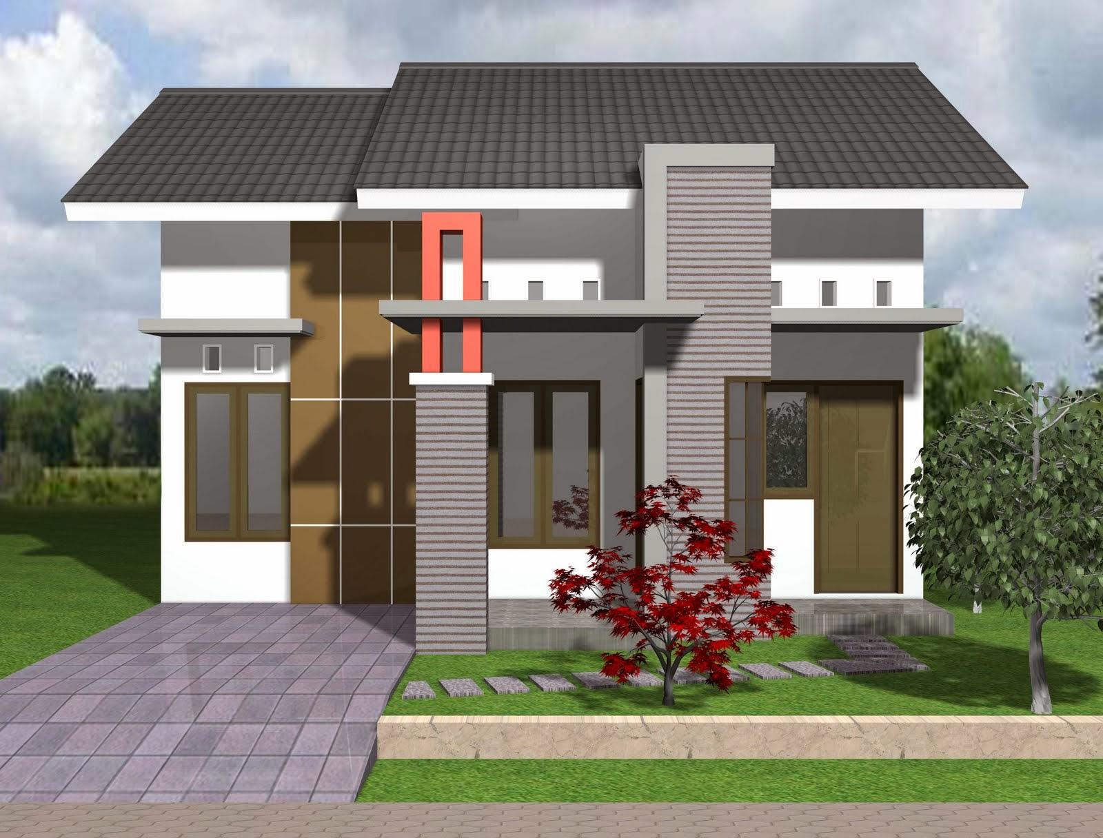 rumah model minimalis modern