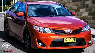 2015 Toyota Camry RZ Review Australia Design