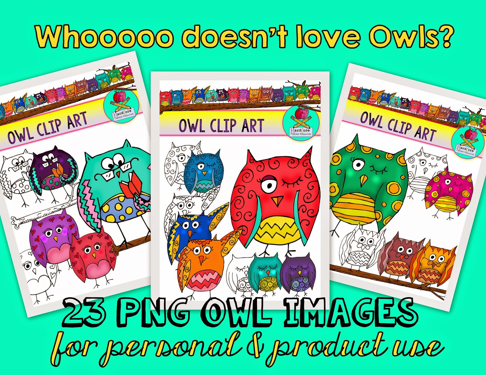 http://www.teacherspayteachers.com/Product/Owl-Clip-Art-23-PNG-CLIP-ART-IMAGES-Whooooo-doesnt-love-Owls-1363064