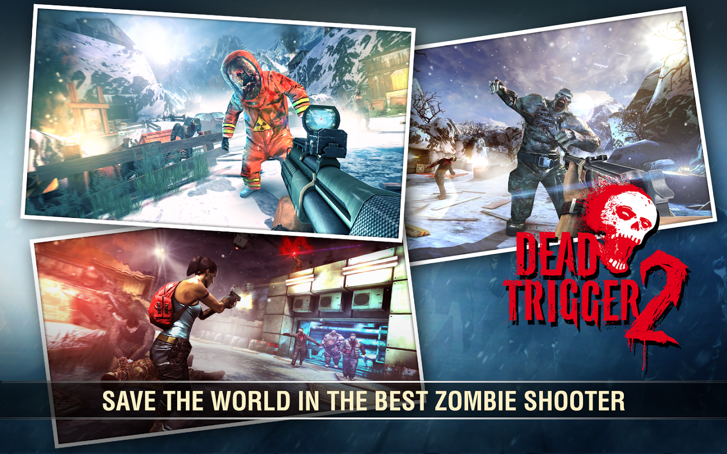 Free Download Game Dead Trigger 2 .APK Full Data