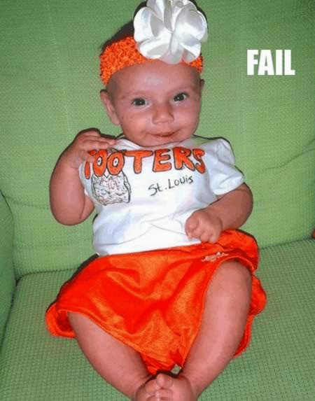 Hooters Baby Halloween Costume