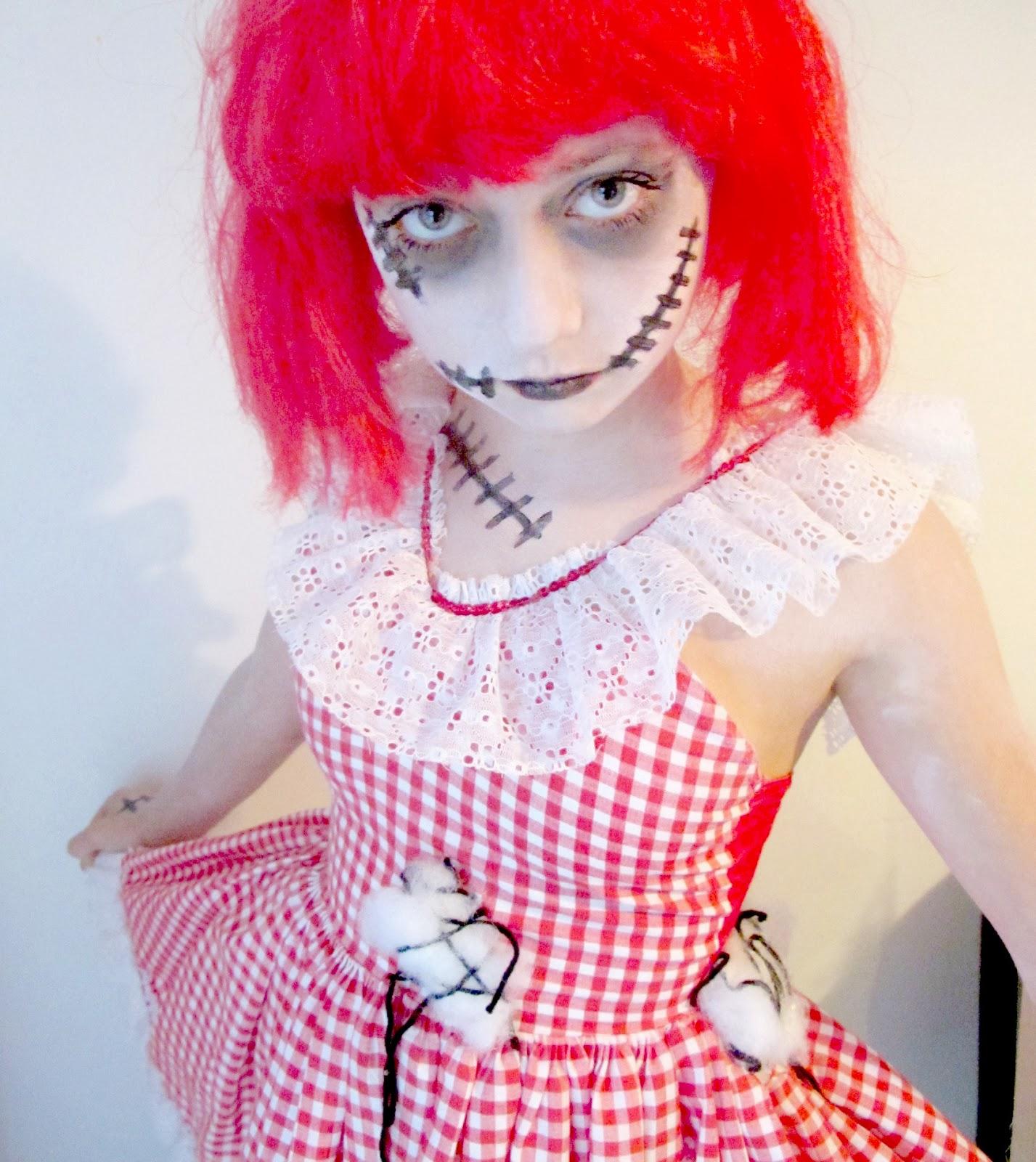 Theresa Joy 365 Days Of Pinterest Day 24 Diy Zombie Schoolgirl