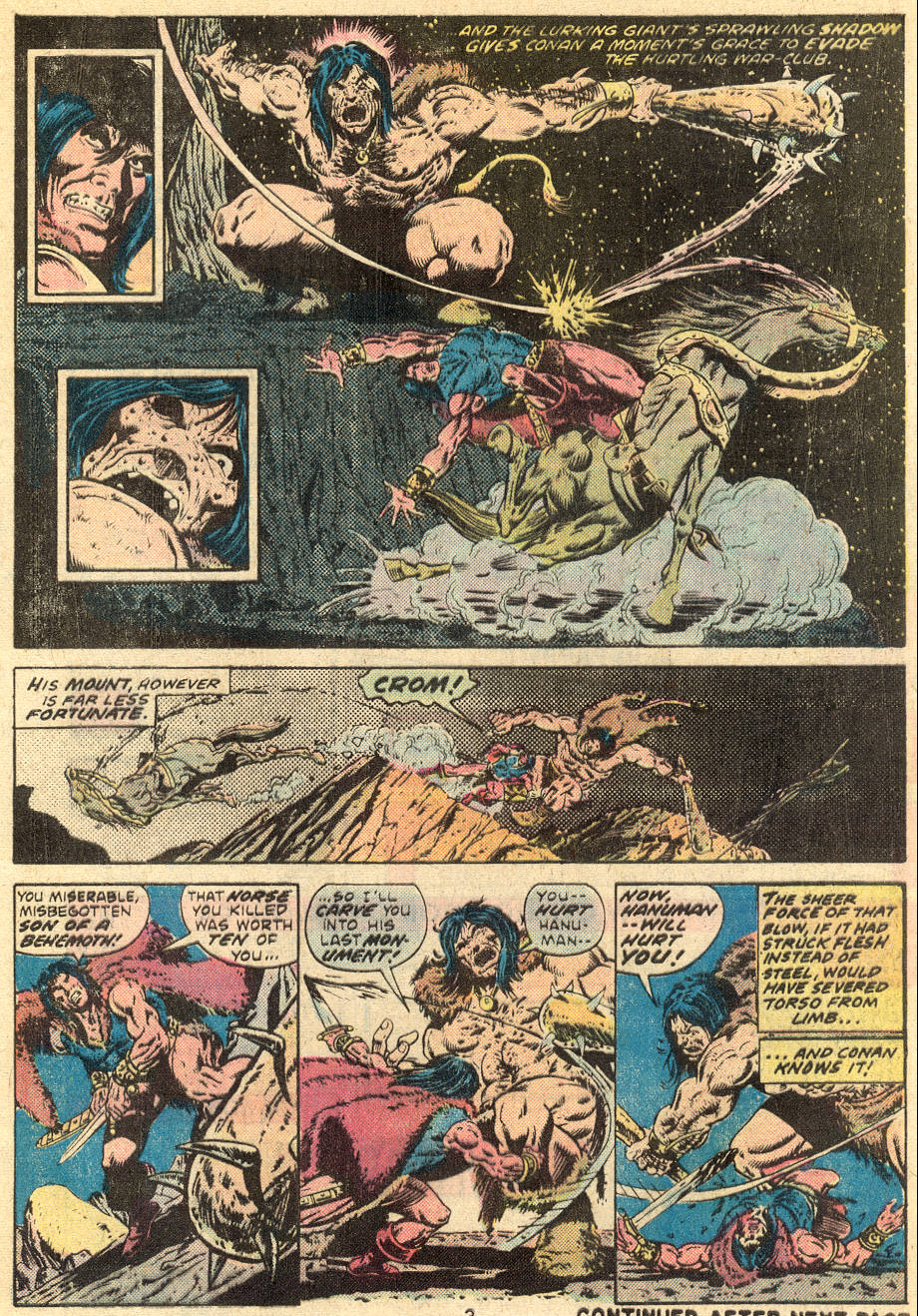Conan the Barbarian (1970) Issue #64 #76 - English 4