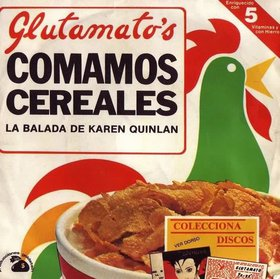 Reseña disco GLUTAMATO YE-YE - Comamos cereales (single)