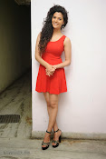 Saiyami Kher Hot in Red at Rey Trailer launch-thumbnail-19