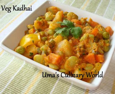 veg Kadhai