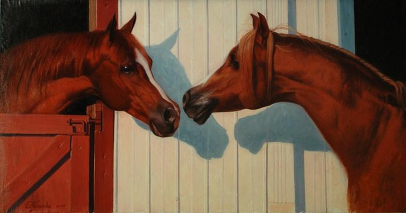 The Red Mask | Elena Kukanova [Елена Куканова] 1979 - Russian painter