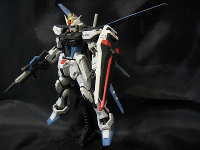 RG Aile Strike Gundam Painted Build