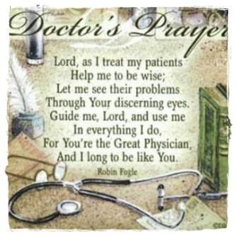 Doctor S Prayer For Patients