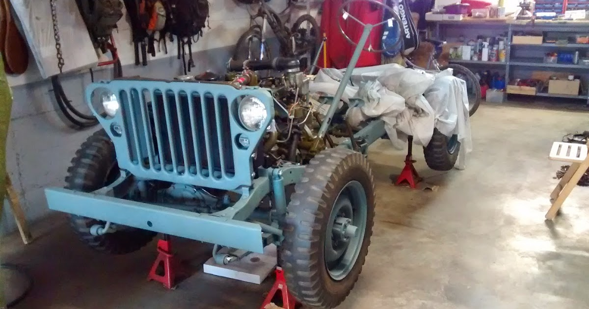 Willys Mb 316162 Marzo 1944 Chasis