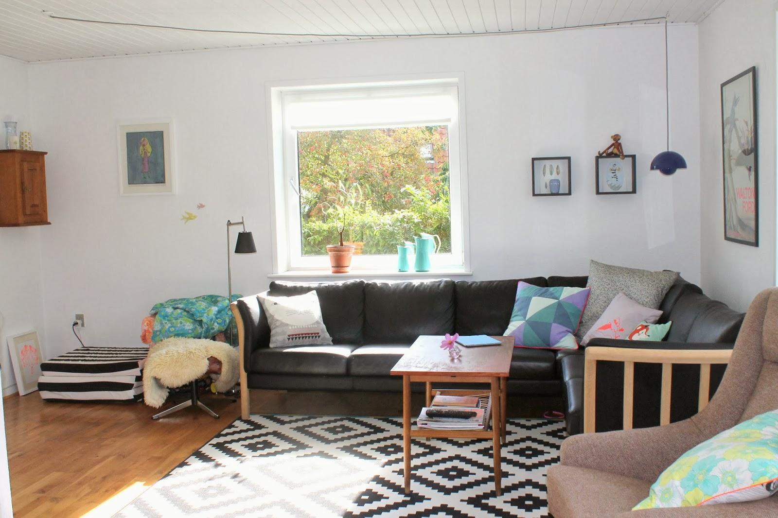 Vaga vong: stuen og puder
