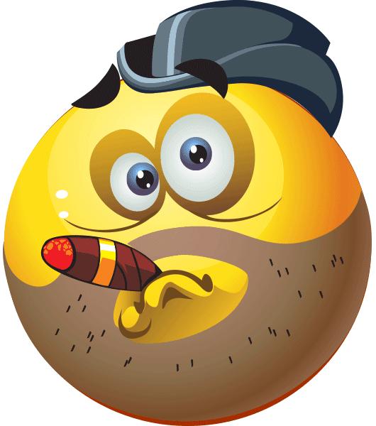Cigar Smiley