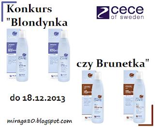 http://miraga80.blogspot.com/2013/12/konkurs-blondynka-czy-brunetka-z-cece.html