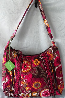NWT Vera Bradley Lisa B Hobo --CARNABY--A favorite among many-retired pattern!!!