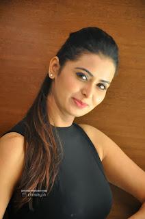Actress-Meenakshi-Dixit-Stills-at-Adavi-Kachina-Vennela-Digital-Poster-Launch