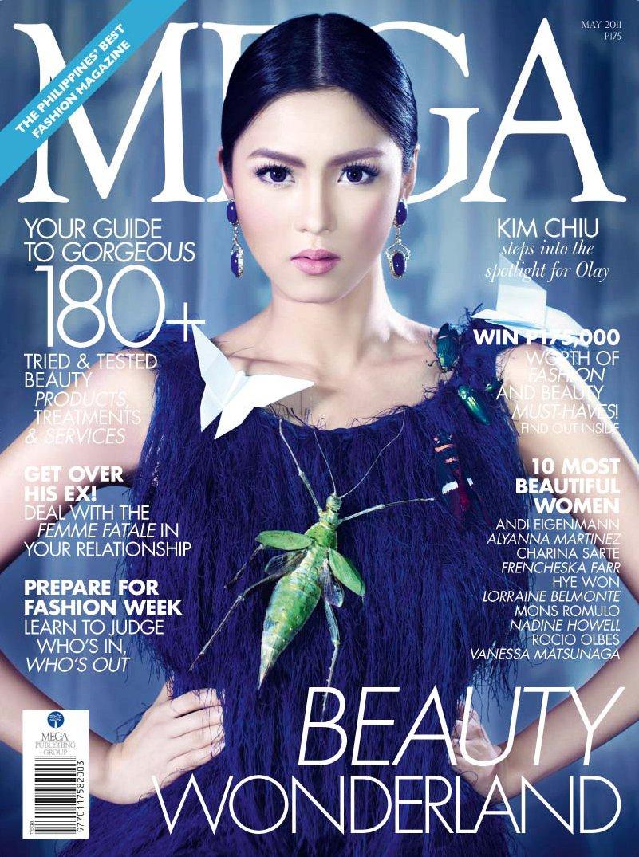 Kim Chiu graces the cover of Mega Magazine (May 2011)