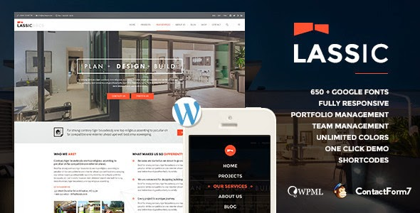 Lassic | WP Industrial Business Theme