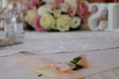 dekoracja serwetki na wesele, serwetnik ślubny