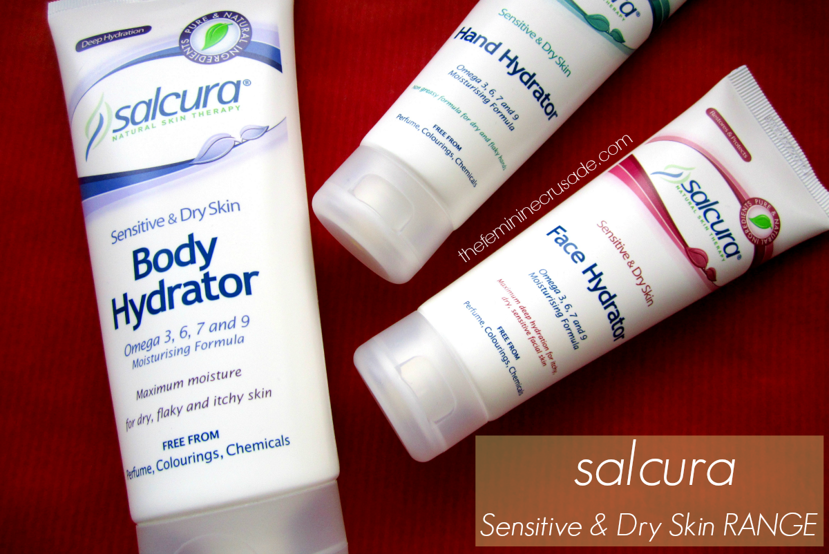 Salcura Dry & Sensitive Skin Range