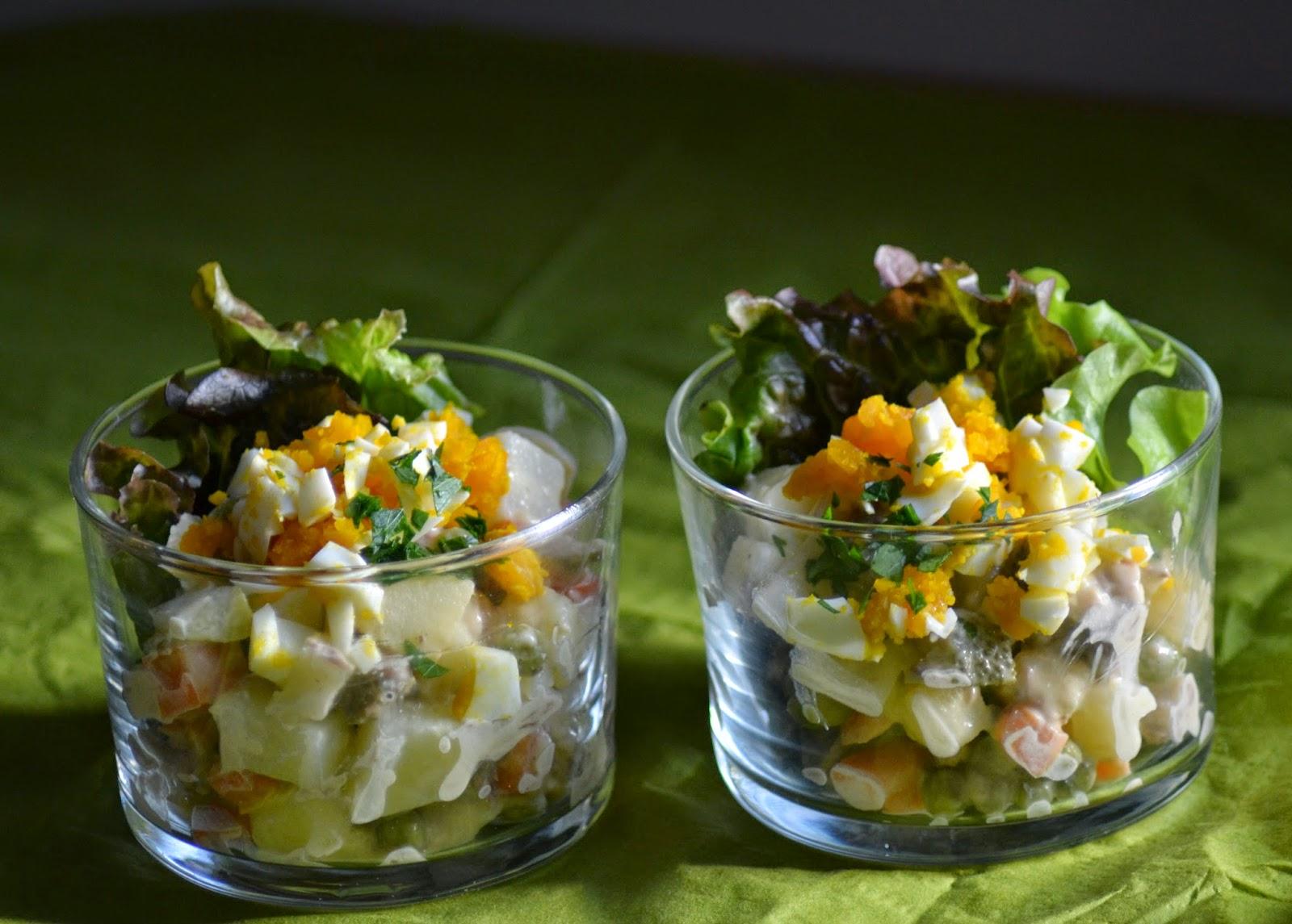 Huzarensalade zelf maken
