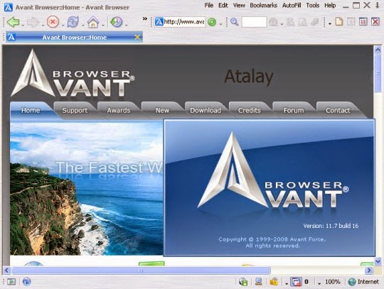 Avant Browser 2014 Final Free Download
