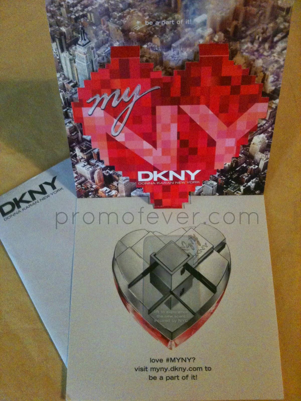 perfume my DKNY amostra grátis