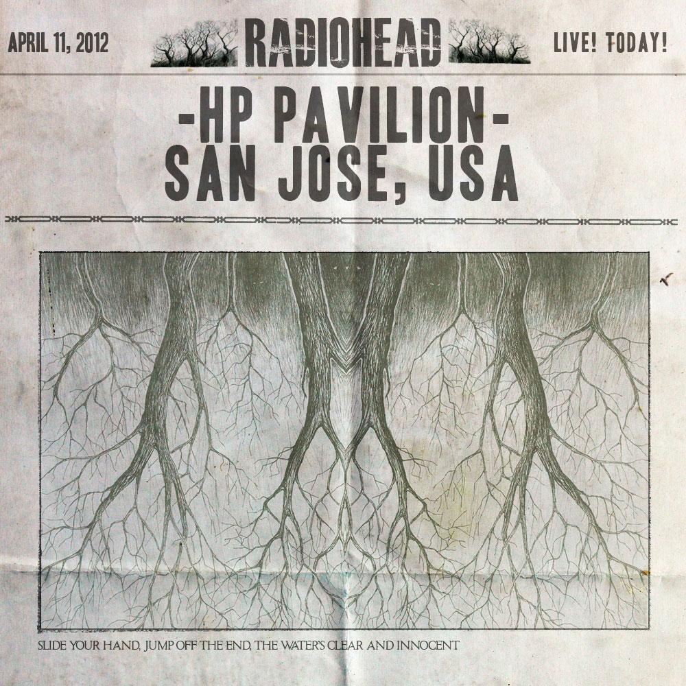 Radiohead Bootlegs Radiohead 2012 04 11 Hp Pavilion Mp3320 Mg