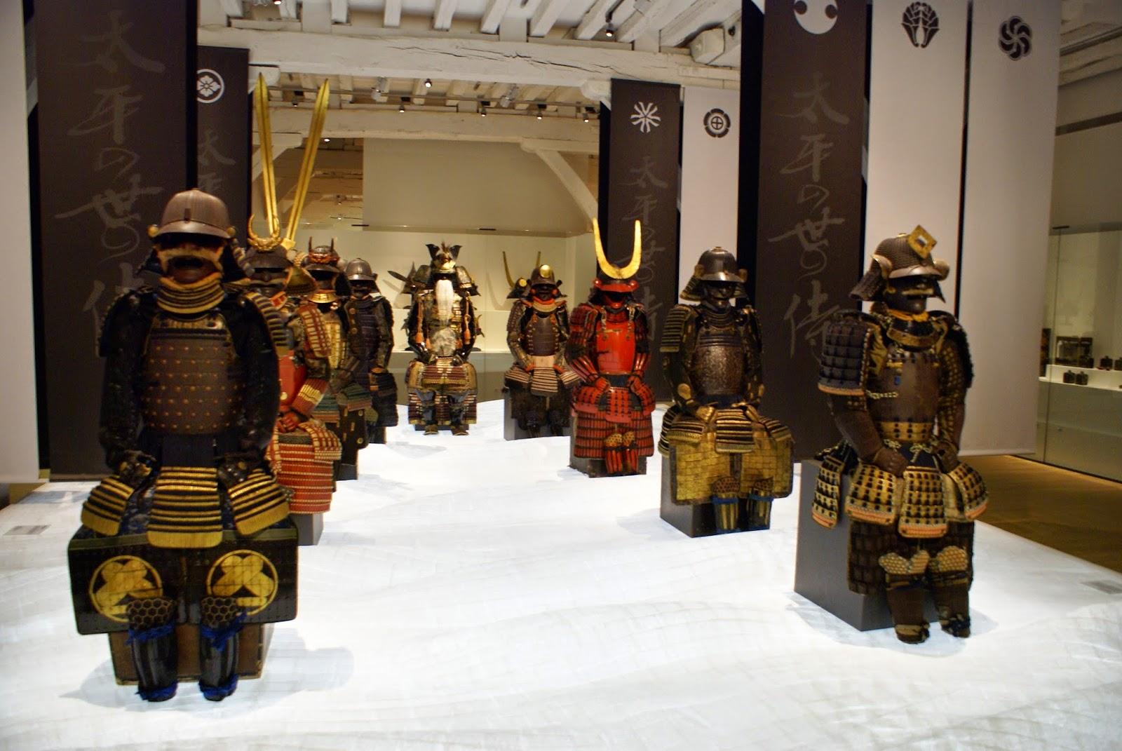 exposition samourai a Nantes