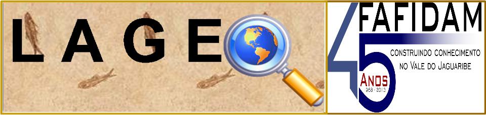 Blog do Laboratório de Geografia da FAFIDAM/UECE. Contém notícias, comentários e dicas para estudan