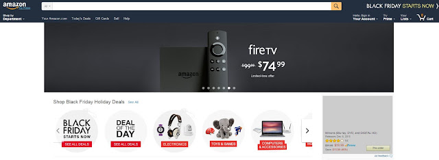 Amazon.com Shop Online Black Friday - Cyber Monday Deals and Coupons