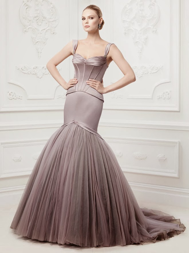 Short Purple Wedding Dress 13 Stunning Truly Zac Posen Wedding