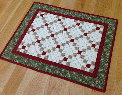 Miniature Doll Quilt Swap - May 2015 Humble QUilts