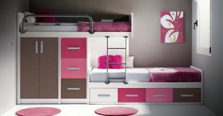Allmamobel dormitorios juveniles - Como amueblar un dormitorio juvenil pequeno ...