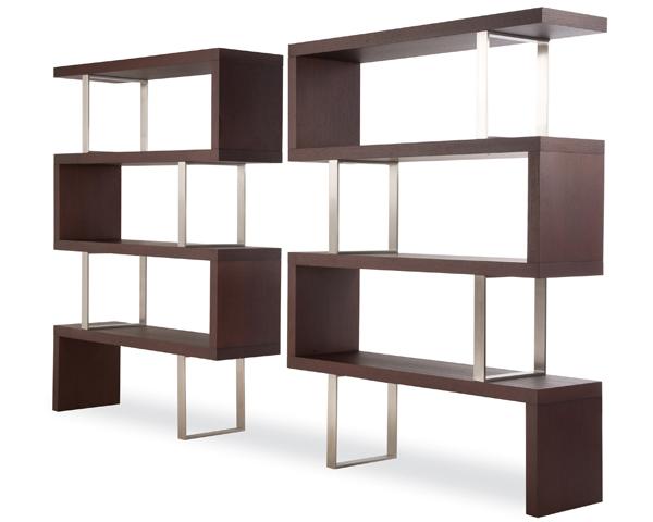 de lneas modernas y prctico separador combinacin de madera y metal
