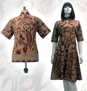 baju batik modern 2012